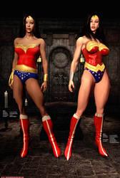 Wonder Woman - Old and New by Sandmarine