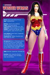 Wonder Woman (Character Profile) by Sandmarine