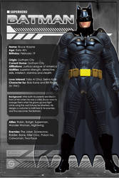 Batman (Character Profile) by Sandmarine