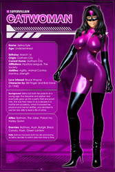 Catwoman (Character Profile) by Sandmarine