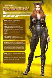 Cheetah (Character Profile) by Sandmarine
