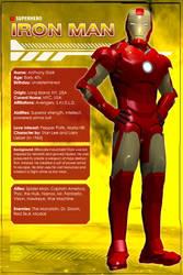 Iron Man (Character Profile) by Sandmarine