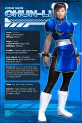 Chun-Li (Character Profile) by Sandmarine