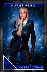 Invisible Woman (Playing Card)