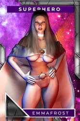 Emma Frost (Playing Card)