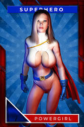 Power Girl (Playing Card)