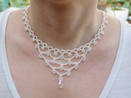 Wedding Necklace by FeynaSkydancer
