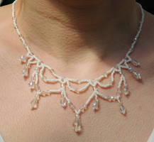 Victorian Beaded Necklace 2 by FeynaSkydancer