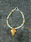First Leaf of Autumn/Lothlorien Bracelet
