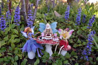Fairy Garden Party by FeynaSkydancer