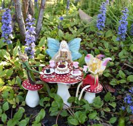 Fairy Garden Party  2 by FeynaSkydancer