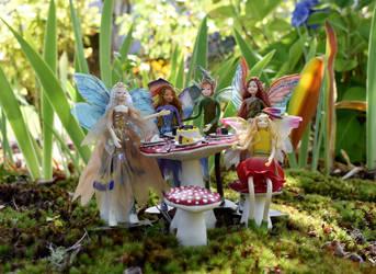 Birthday Fairy Party by FeynaSkydancer