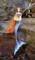 Birthday Mermaid  Nessa by FeynaSkydancer