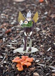 The Mushroom Fairy 3 by FeynaSkydancer