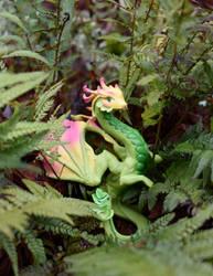 Hidden in the Ferns by FeynaSkydancer