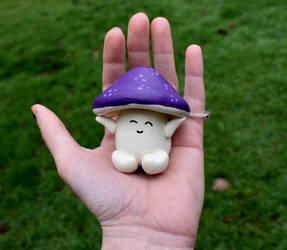A little Mushroom  Friend by FeynaSkydancer