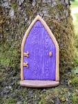 Simple Fairy Door by FeynaSkydancer