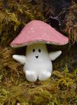 Rosetop Mushroom Folk by FeynaSkydancer