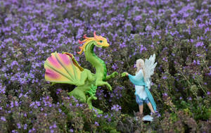 The Flower Dragon and the Herb Fairy