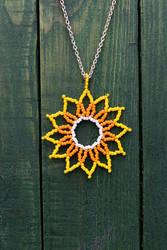 Sun or Flower Pendant