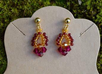 Pretty little earrings