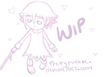 WIP Cute/Sad Crona