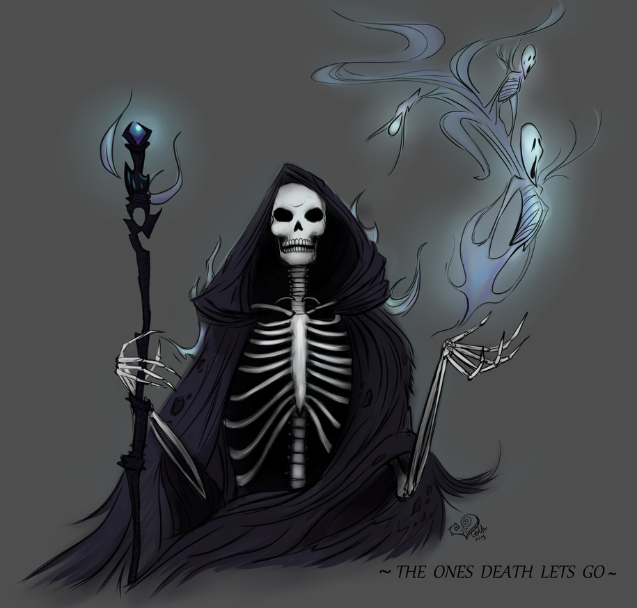 The Ones Death Lets Go by prettypunkae