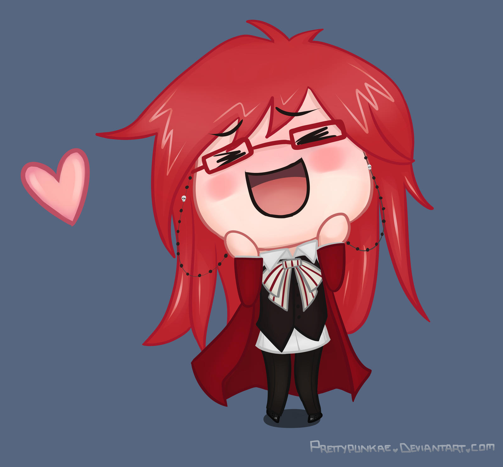 The Cutest Fangirl (Grell Chibi Finished)