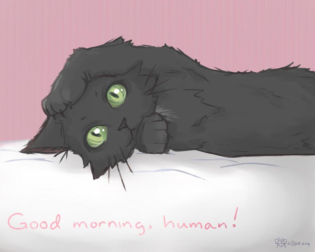 Good morning, Human! by prettypunkae