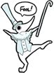 FOOL! (Excalibur Emote) by prettypunkae