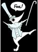 FOOL! (Excalibur Emote) by prettypunkae