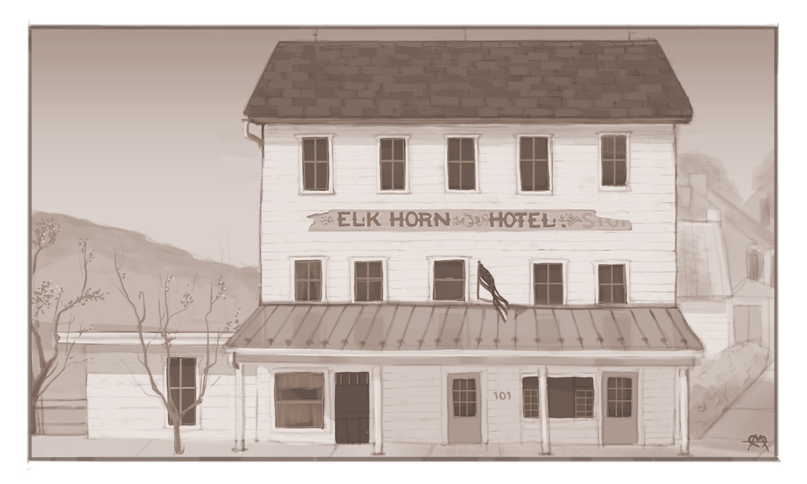 Elkhorn Inn  (Commission) by prettypunkae