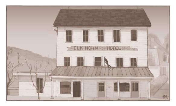 Elkhorn Inn  (Commission)