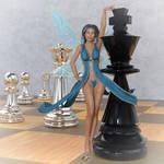 Gillian the Chess Elf - Fantasy Art by G-abi-K