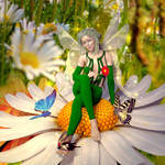 Fairy Queen of Butterflies by G-abi-K