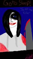Go to Sleep-Jeff the Killer Fan art