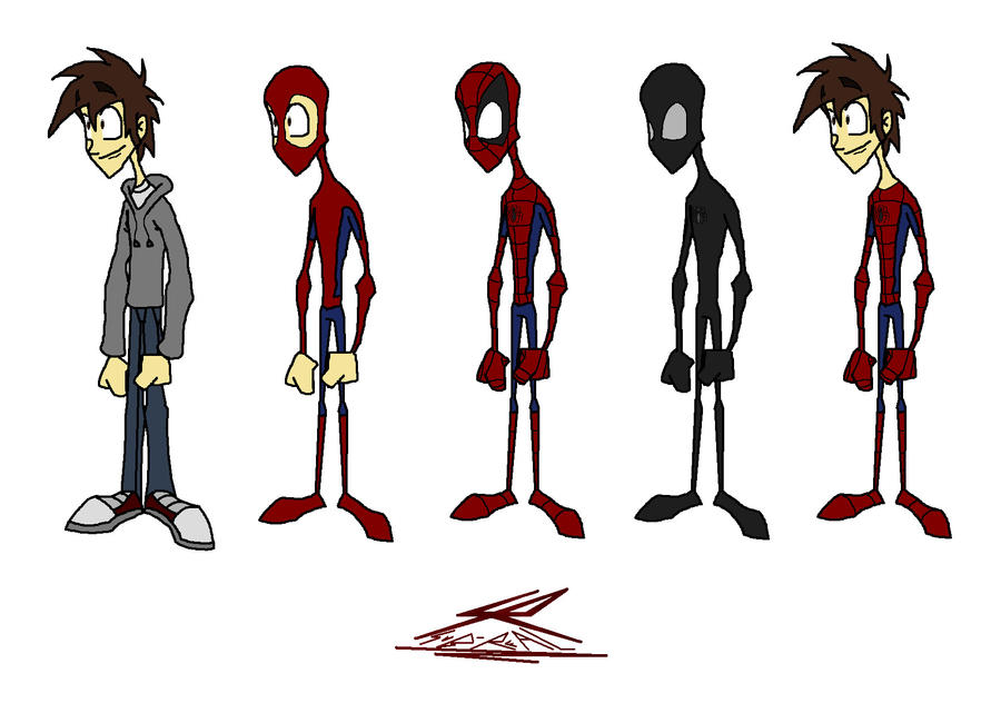 Spiderman Costumes By Sub Real On DeviantArt