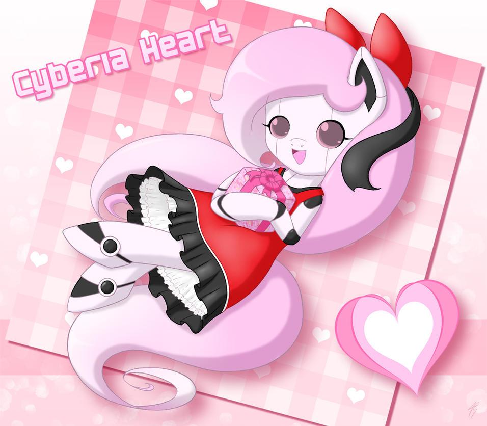 Happy 1st Birthday, Cyberia Heart! by Jdan-S