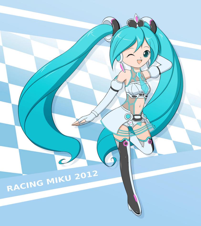 Racing Miku 2012 by Jdan-S