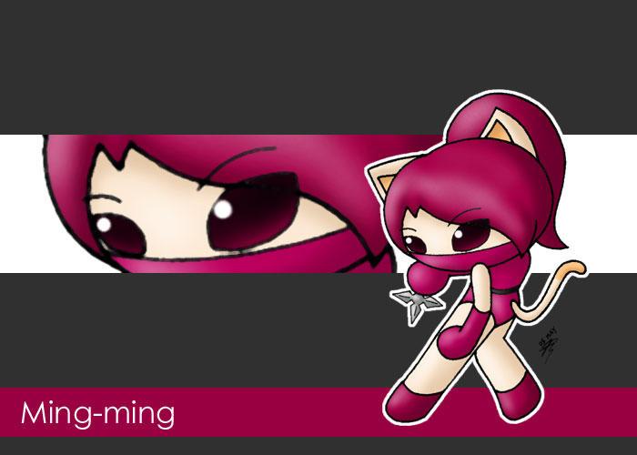 Ninja Ming-ming by Jdan-S