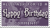 Hearing Happy B-day = Smiles! by Drache-Lehre