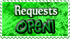 Requests OPEN - Stamp by Drache-Lehre
