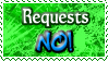 Requests NO - Stamp by Drache-Lehre