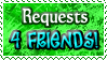 Requests 4FRIENDS - Stamp by Drache-Lehre