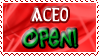 Aceo OPEN - Stamp by Drache-Lehre