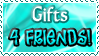 Gifts 4FRIENDS - Stamp by Drache-Lehre