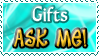 Gifts ASK ME - Stamp by Drache-Lehre