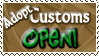 Adopt Customs OPEN - Stamp by Drache-Lehre