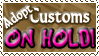 Adopt Customs HOLD - Stamp by Drache-Lehre