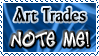 Art Trade NOTE ME - Stamp by Drache-Lehre